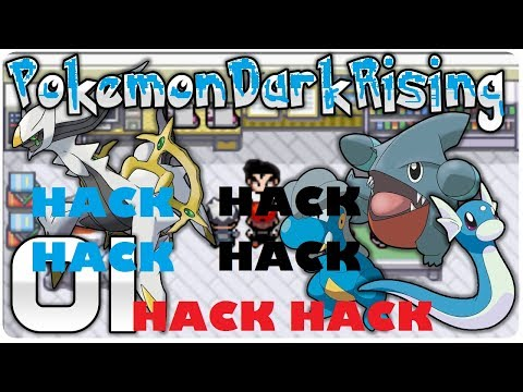 Pokemon Dark rising (Hack) rare candies and money Cheat codes