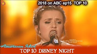 """Download Lagu Maddie Poppe sings """"The Bare Necessities"""" The Jungle Book Disney Night  American Idol 2018 Top 10 Gratis STAFABAND"""