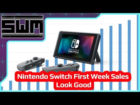 Nintendo Switch First Week Sales Look Good
