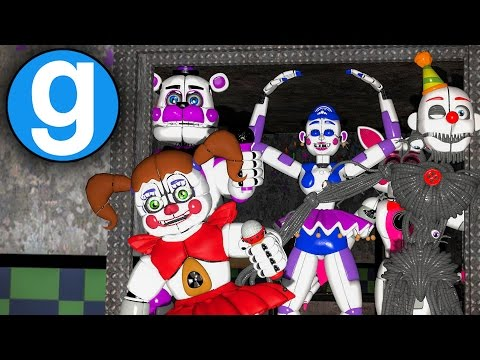 SISTER LOCATION PILL PACK IN GMOD | PART 2 - (Gmod FNAF Sandbox Funny Moments)(Garry's Mod)