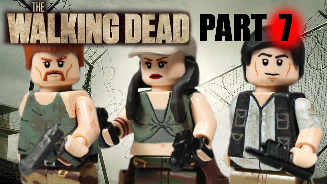 custom lego the walking dead minifigures part 7 youtube. Black Bedroom Furniture Sets. Home Design Ideas
