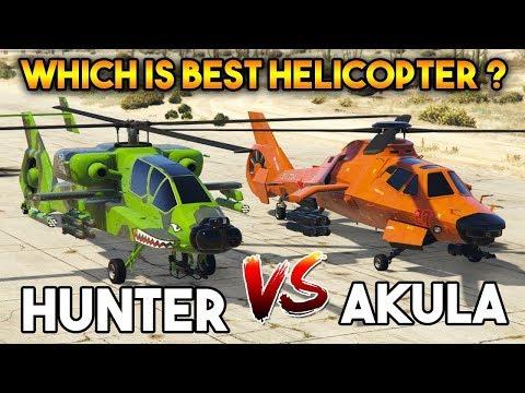 GTA ONLINE : AKULA VS HUNTER ( WHICH IS BEST ? )