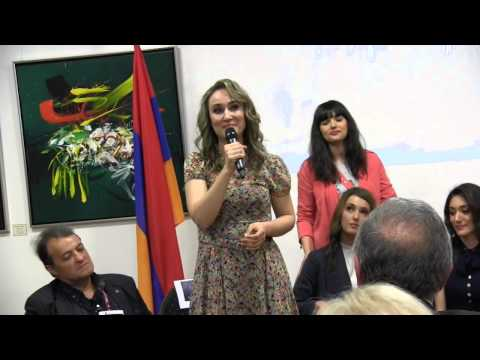 ESCKAZ in Vienna: Genealogy (Armenia) at Armenian embassy