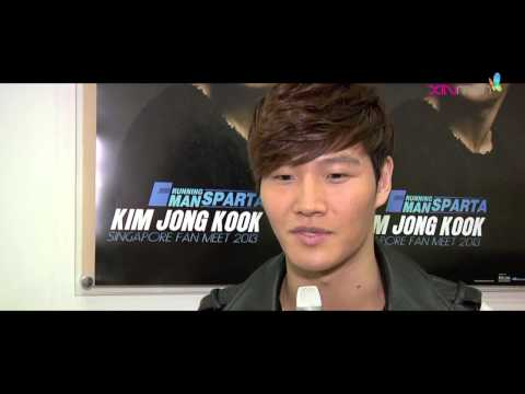 Singapore Fanmeeting Interview - Kim Jong Kook wants to get married soon