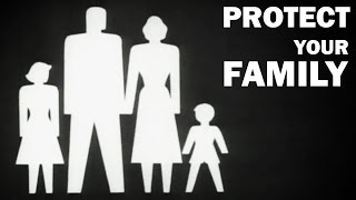 How to Protect Your Family and Home in a Nuclear Attack | 1950s Educational Film
