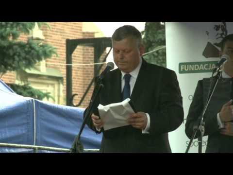 Odsłonięcie Pomnika Lecha I Marii Kaczyńskich W Radomiu