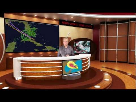 Tropical Storm Isaac Coverage from Vero Beach, Florida