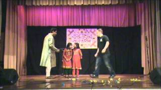 Basanta Utsav - Kid Performers. at Bangla o Biswa Basanta Utsav