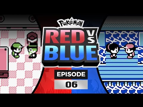 Pokemon Red and Blue Versus - EP 06   Vinny's First DEATH?!