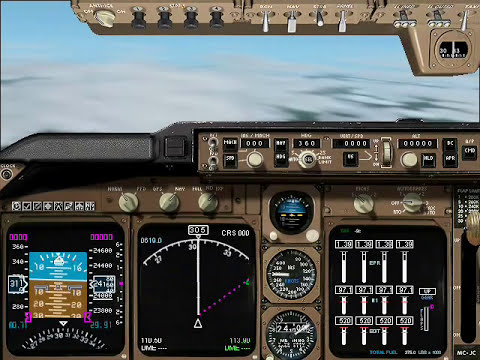 Microsoft Flight Simulator History Movie (only with original sound of simulators, no music)