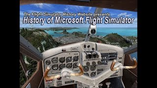 Microsoft Flight Simulator History Movie (only with original sound of simulators, no music)