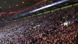 Celtic 2 - 1 Barcelona - Goals & Fans