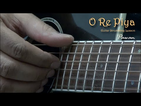 O Re Piya - Aaja Nachle - Guitar Chords Lesson by Pawan