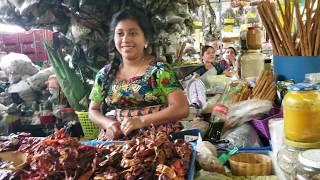 Don Barra En El Mercado Municipal De Antigua Guatemala
