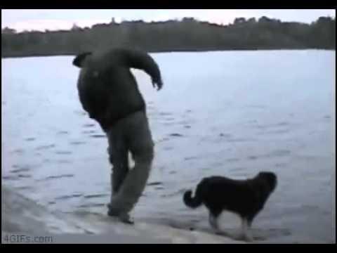 Рыбак и Собака  Жуткая Неудача