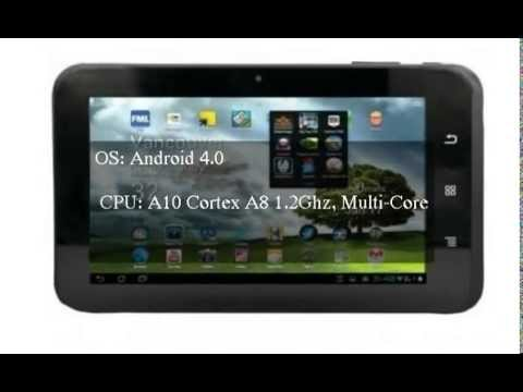 MACH Speed Trio Stealth Pro Tablet Android 4.0 OS Wi-Fi Webcam Camera Notebook