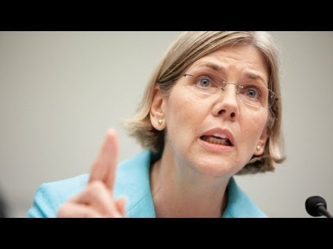 Elizabeth Warren Rips Foreclosure Regulators