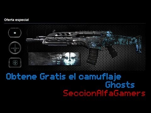 Black Ops II - Obtene el camuflaje Call of Duty Ghosts Gratis
