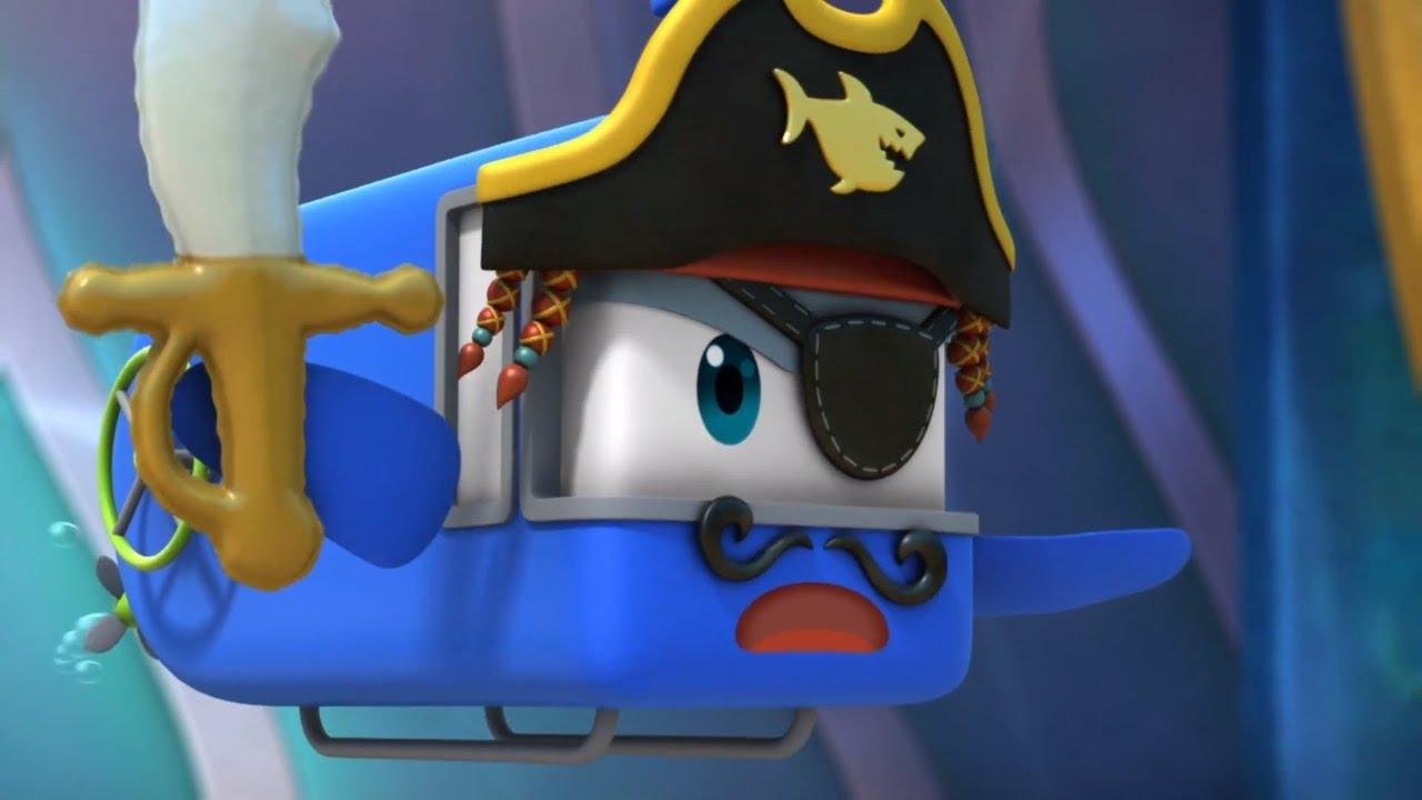 марин подводная лодка мультик