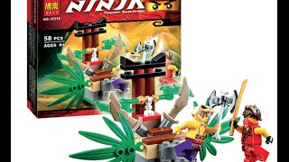 Ninjago Masters of Spinjitzu Lego Set- Jungle Trap with minifigures - Speed Building