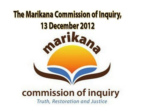 The Marikana Commission of Inquiry, 13 December 2012