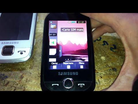 tuto comment formater une samsung gt s3650  hard reset كيفية ازالة كلمة السر من الهاتف