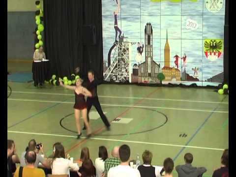 Lisa-Marie Nick & Harald Marzi - Duisburg Cup 2012