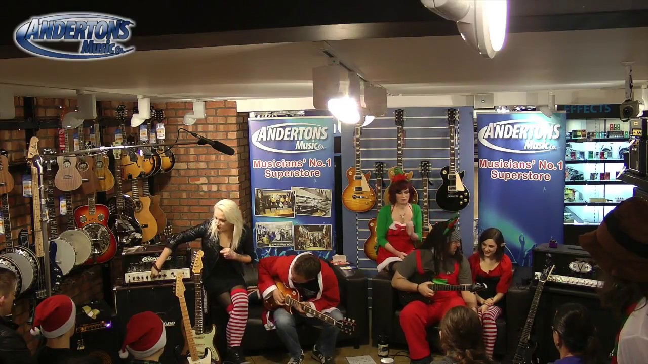 Andertons Xmas Live Show