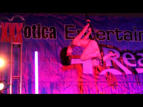 2012 Exxxotica Nj: Stoya's Aerial Ring Perfomance (saturday Edition) video