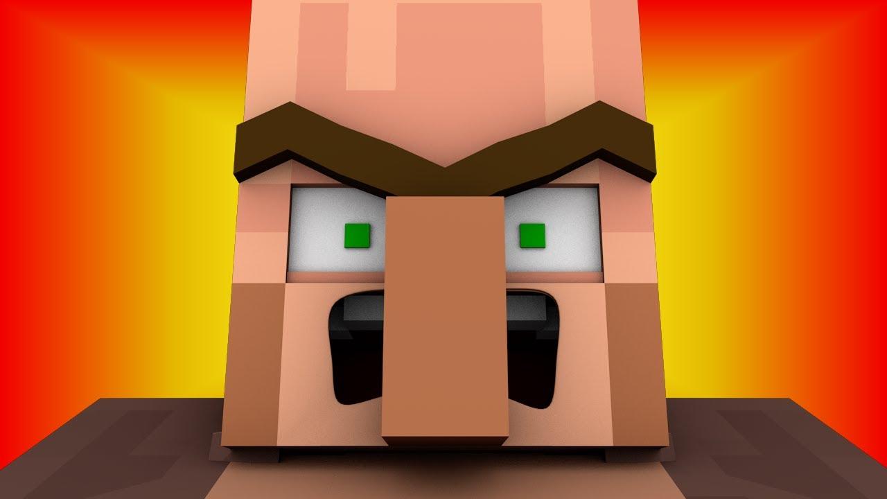 Minecraft Villager Head Costume DIY Minecraft Creeper Costume
