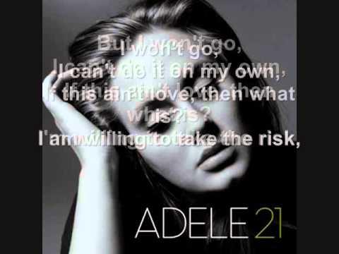 Adele – He Won't Go