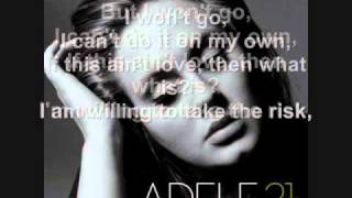 Adele Video - Adele - He Won't Go + Lyrics