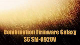 Combination Firmware Galaxy S6 SM-G920V