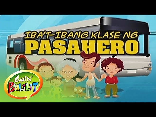 Goin' Bulilit: Different types of jeepney passengers