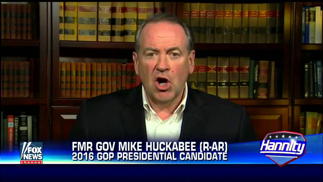 Mike Huckabee blasts Obama for apologizing for America