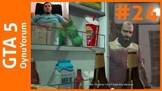 GTA 5 OynuYorum - 24. Bölüm: Bir KocaAyak Yeti Gördüm Sanki