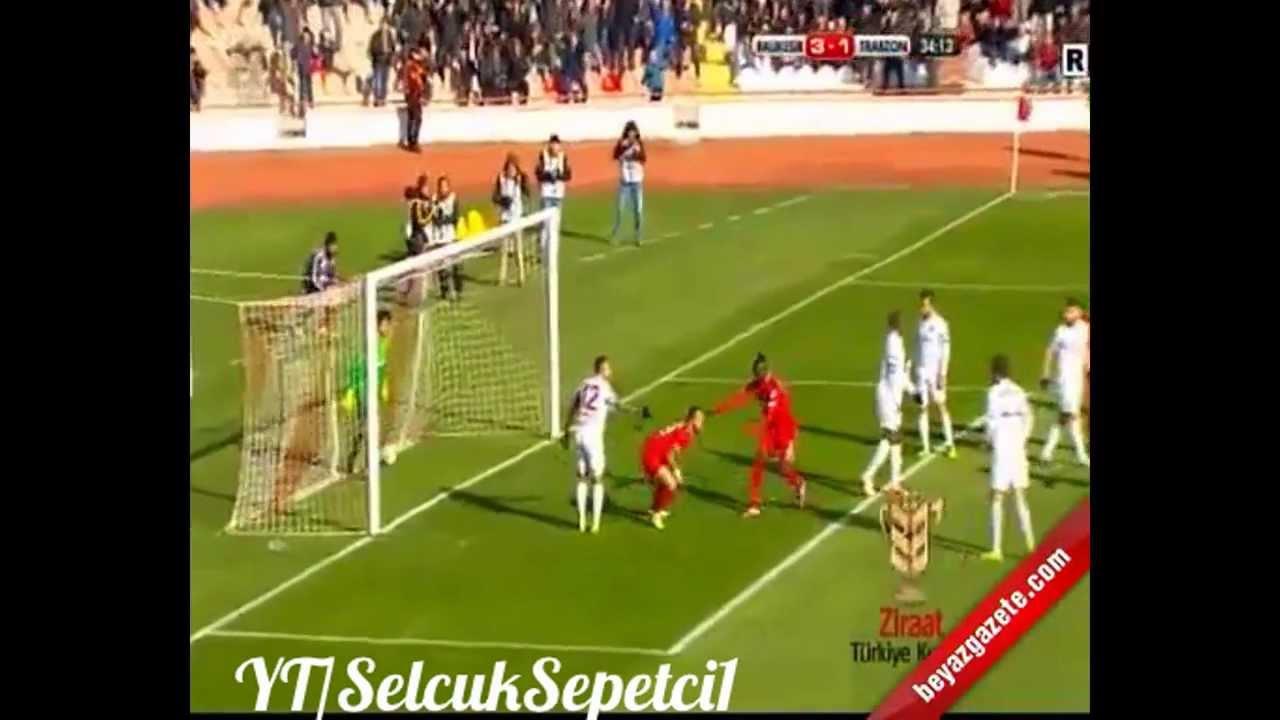 Balıkesirspor 3-1 Trabzonspor Maç Özeti ve Tüm Goller - YouTube: http://www.youtube.com/watch?v=QgqcAlBfMiE