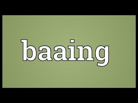 Header of baaing