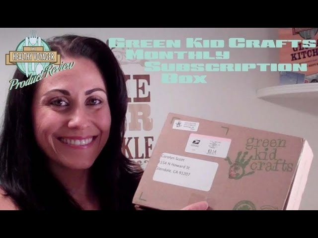 Green Kids Craft Monthly Subscription Box Product Review