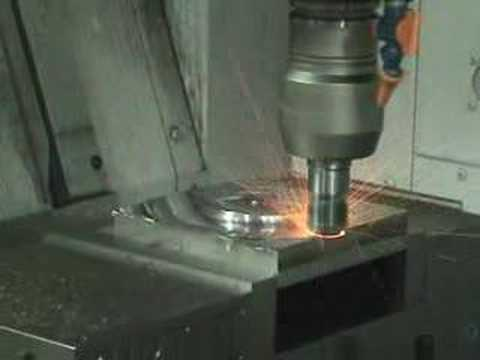 High Speed Machining - 718 Inconel