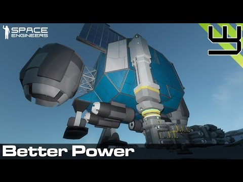Planets Survival Guide #6: Better Power? (Space Engineers)