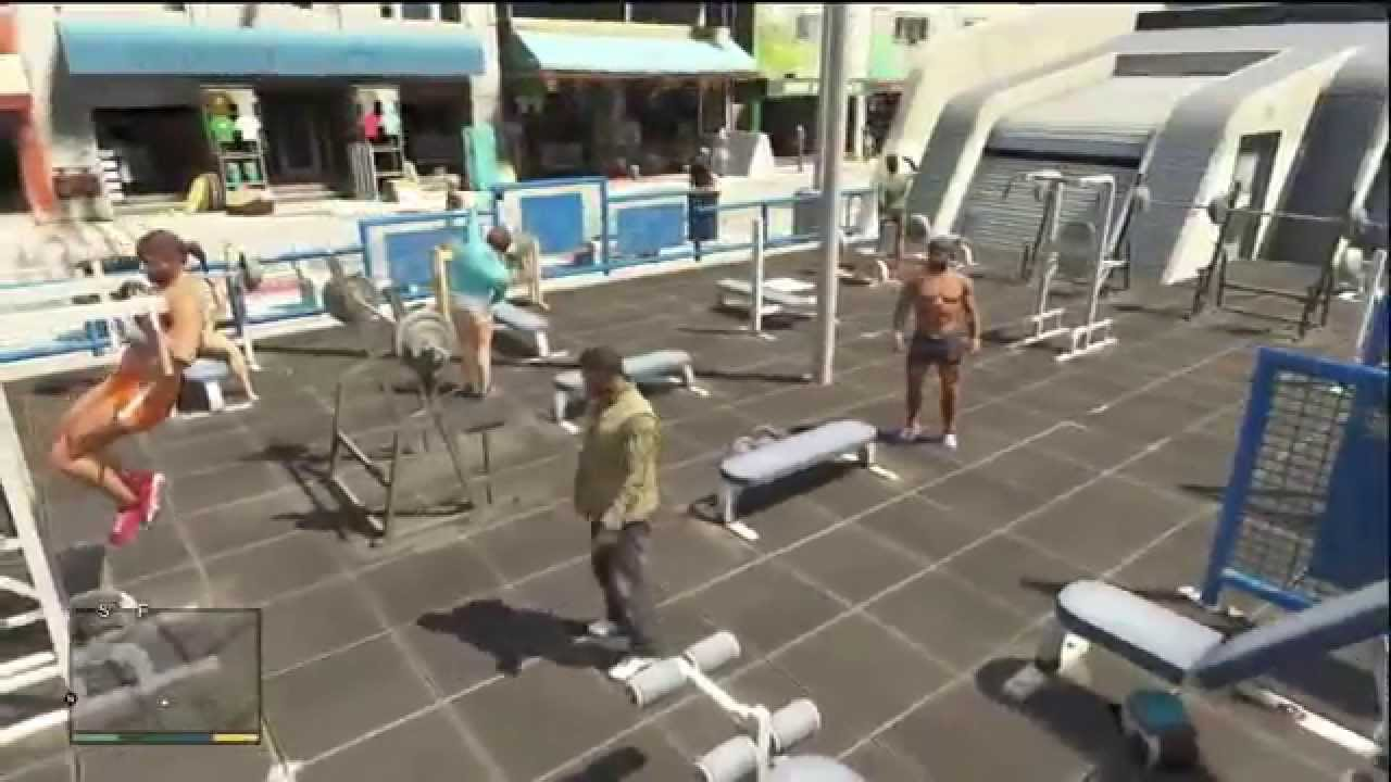 Muscle Beach Miami Location