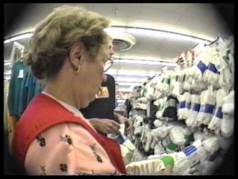 Rick Howard Shopping for Socks - 1992