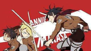 [AMV] Bang Bang - Annie or Mikasa?