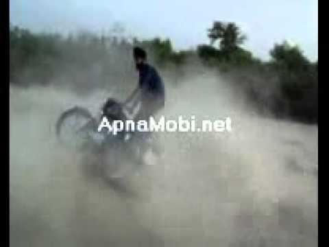 Bullet Stunt Of Sansarpur Boy Raja Mr Jatt Com video