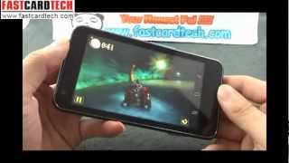 The world fastest Dual core mobile phone Haier W910 Flagship 3D game play reviews