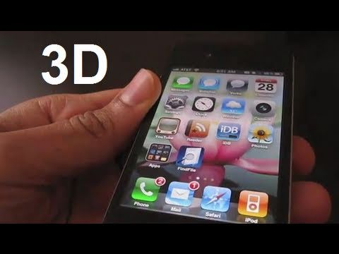 Amazing 3D Effects for iPhone & iPod Touch - DeepEnd Tweak Music Videos