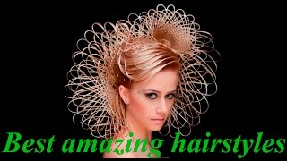 Best amazing hair transformations - strange and beautiful hairstyles