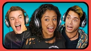 YOUTUBERS REACT TO YOUTUBE REWIND 2016