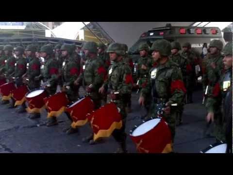 banda de guerra ejercito mexicano